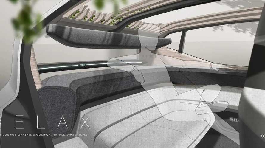Audi AI:ME: un salotto a guida autonoma
