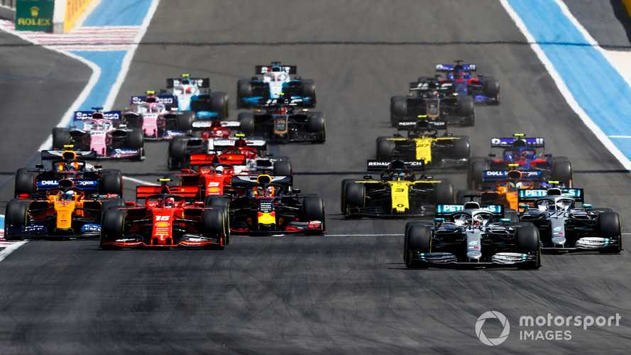 French GP 2019 start race