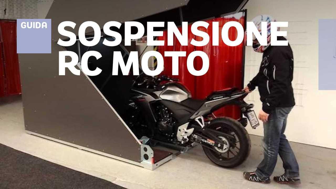 sospensione rc moto