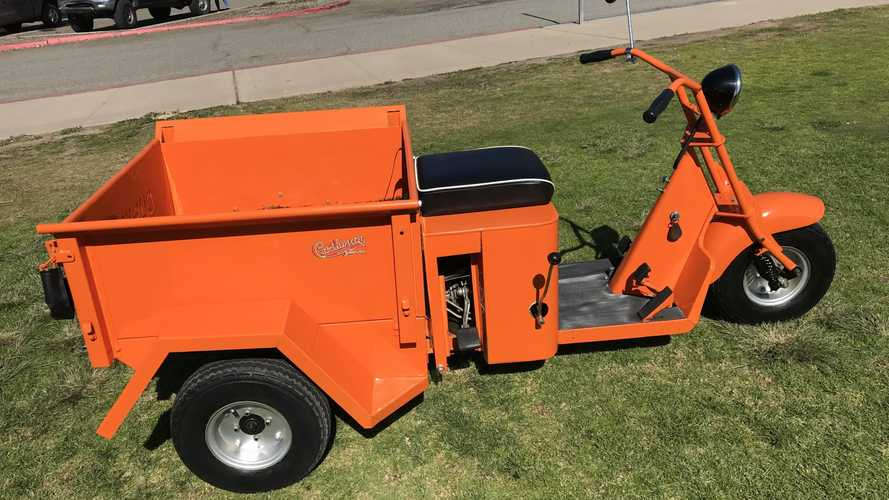 This 1954 Cushman Hauler Isn't A Toy, It's A Truckster
