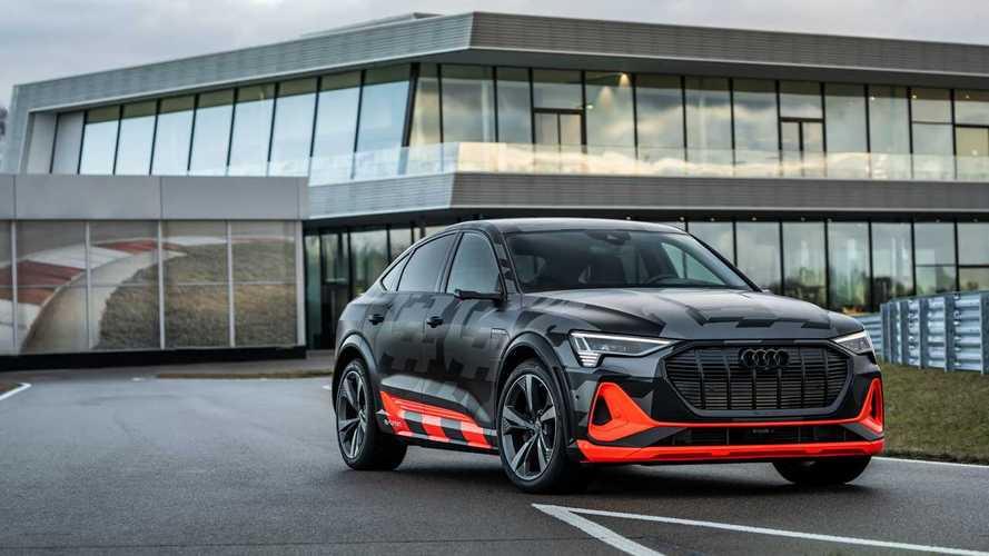 Audi e-tron S 503 beygire varan gücüyle tanıtıldı
