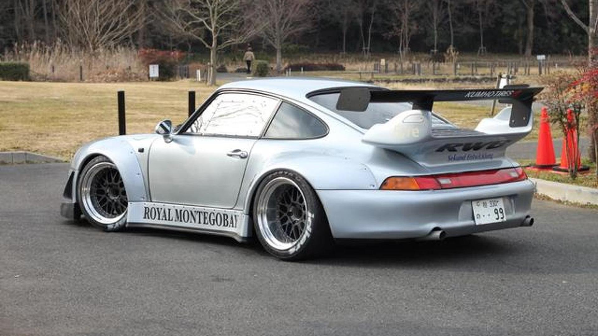 RAUH,Welt Begriff super wide body Porsche 911s for the
