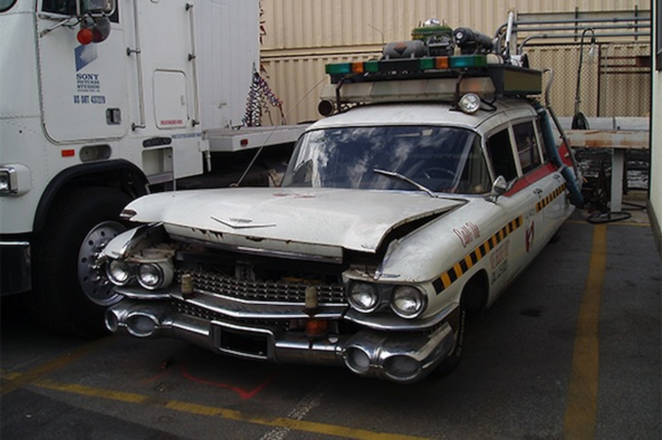 Help the Ghostbusters' ECTO-1 Get a Full Restoration