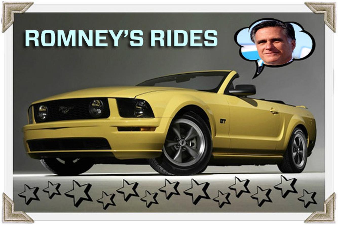 Mitt Romney's Rides