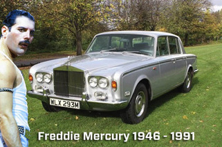 Freddie Mercury's Rolls-Royce Up for Auction