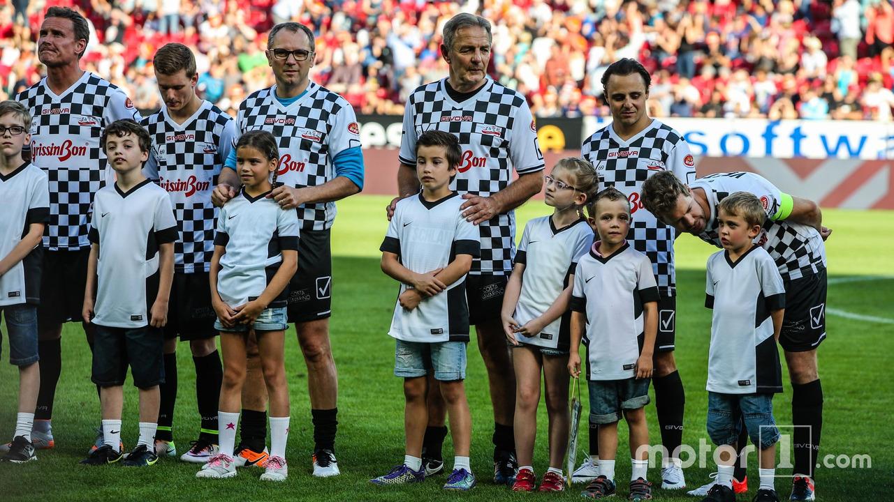 Team Nazionale piloti, Felipe Massa, Williams and Sebastian Vettel, Ferrari