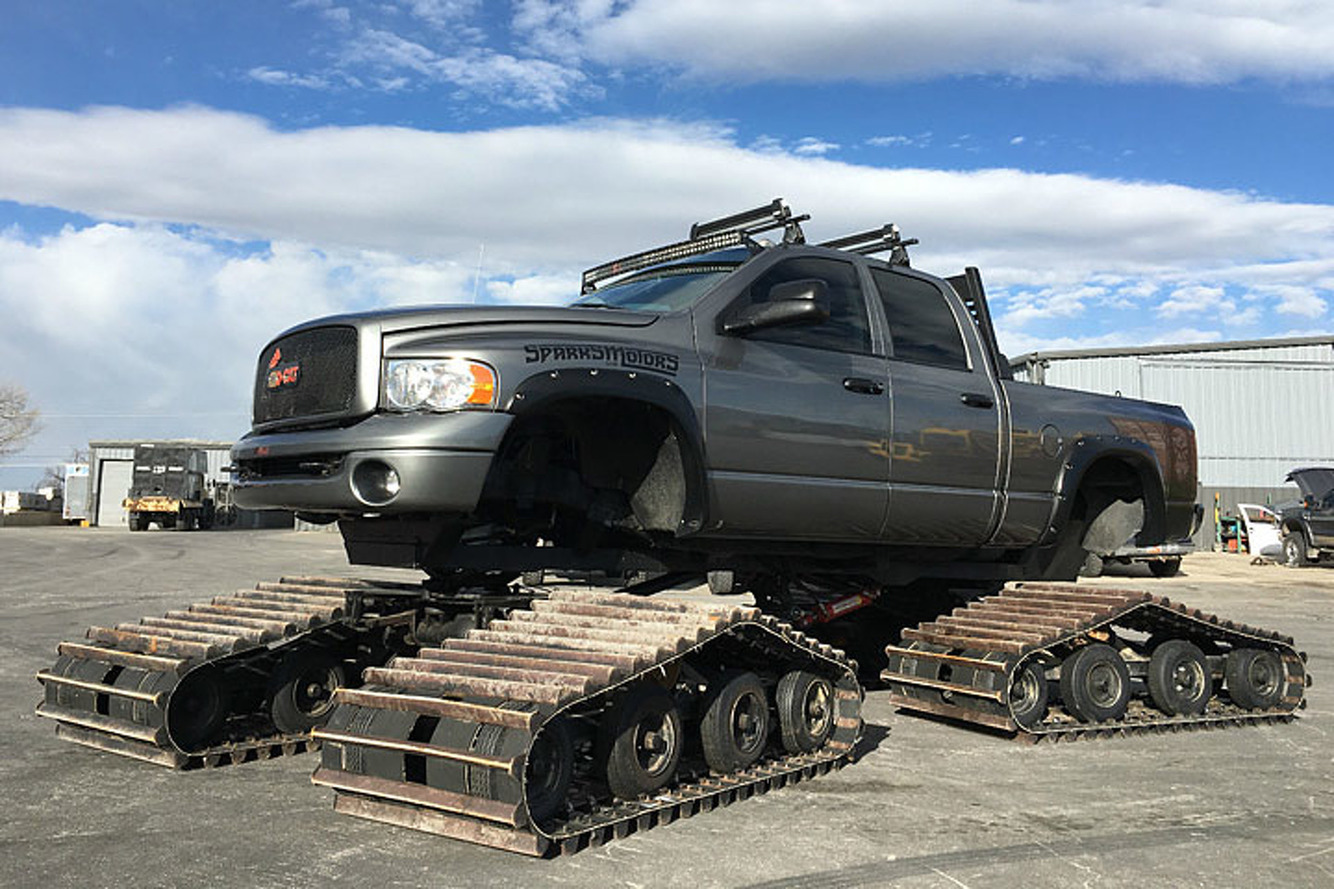 Build A Dodge Truck >> You Can Buy The Sno Cat Dodge Ram From Diesel Brothers