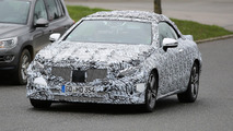 2018 Mercedes E Class Cabriolet spy photo