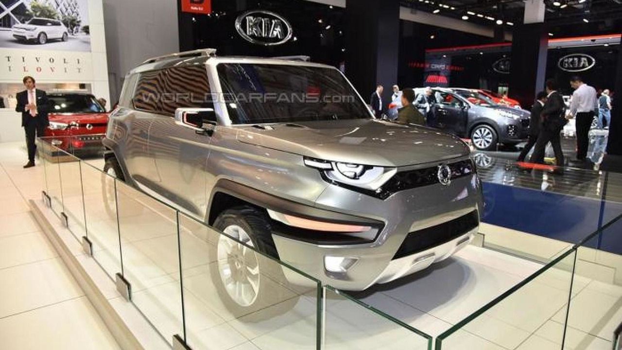 SsangYong at 2015 IAA