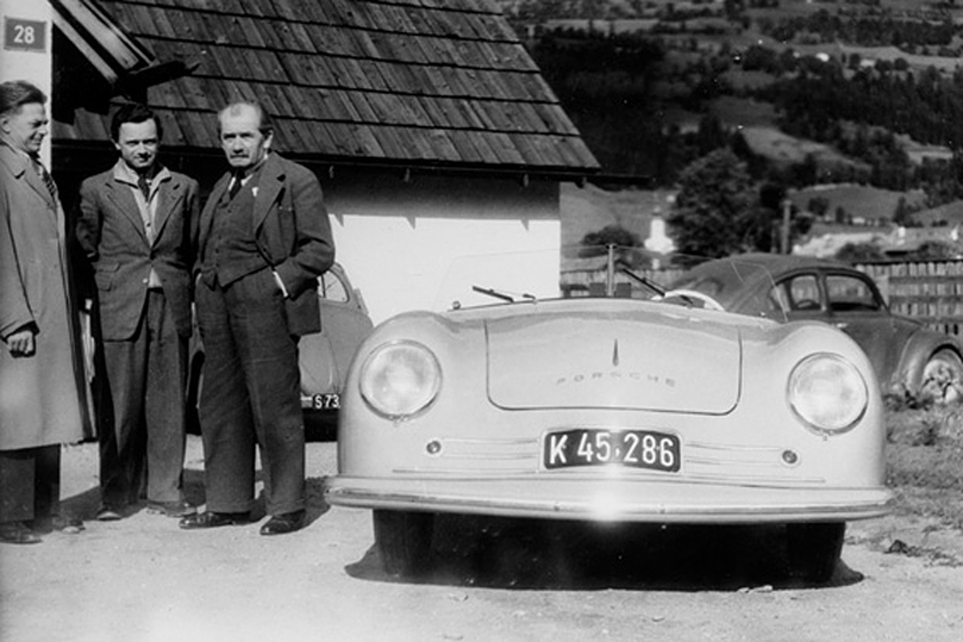on this day in 1948 the first porsche was completed