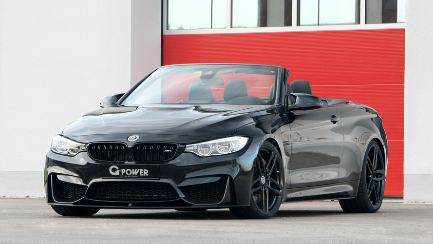 BMW M4 Convertible gets 600 hp from G-Power