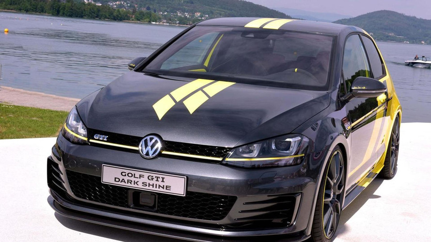 Volkswagen Golf GTI Dark Shine concept unveiled at Wörthersee