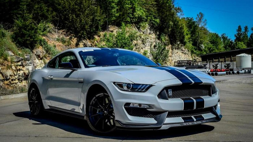 Up close and personal photos of Shelby GT350