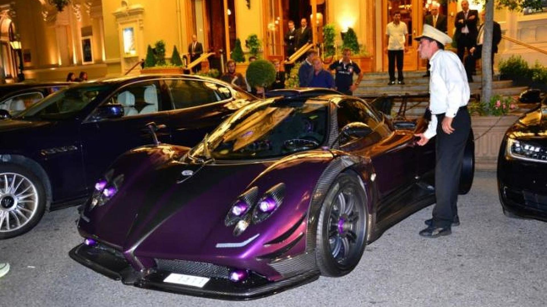 Lewis Hamilton Spotted Driving His One Off Pagani Zonda