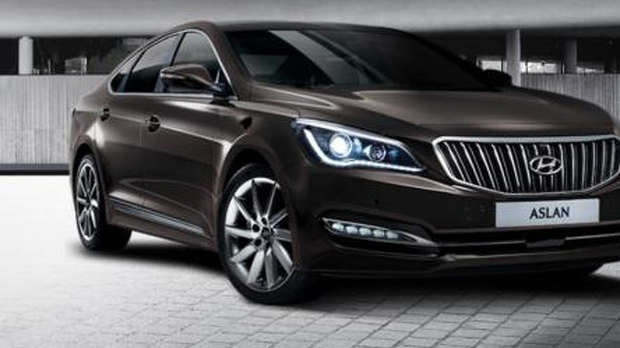 Hyundai Aslan mid-size luxury model launched in South Korea