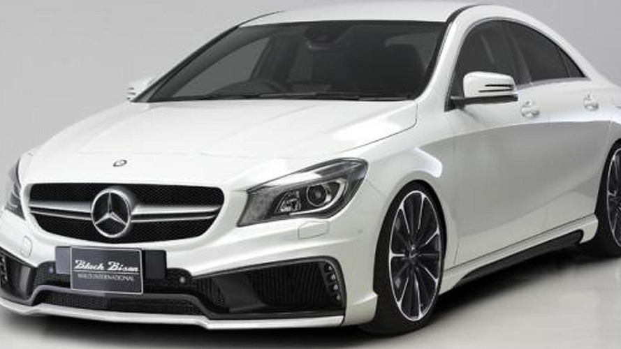 Wald previews their styling program for the Mercedes CLA