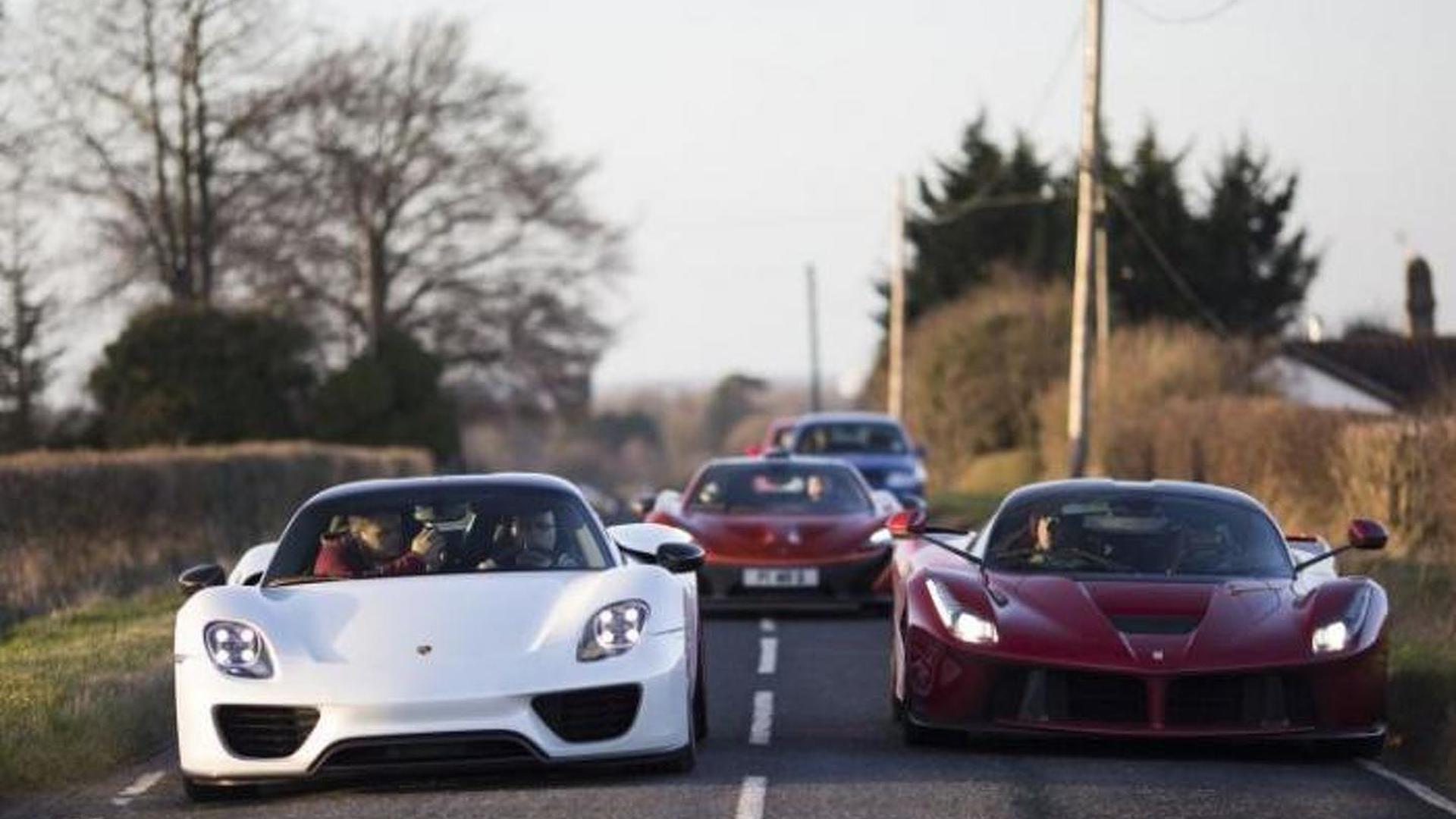 Meet The Man Who Owns The Hottest Supercar Trio Laferrari Mclaren P1 And Porsche 918 Spyder