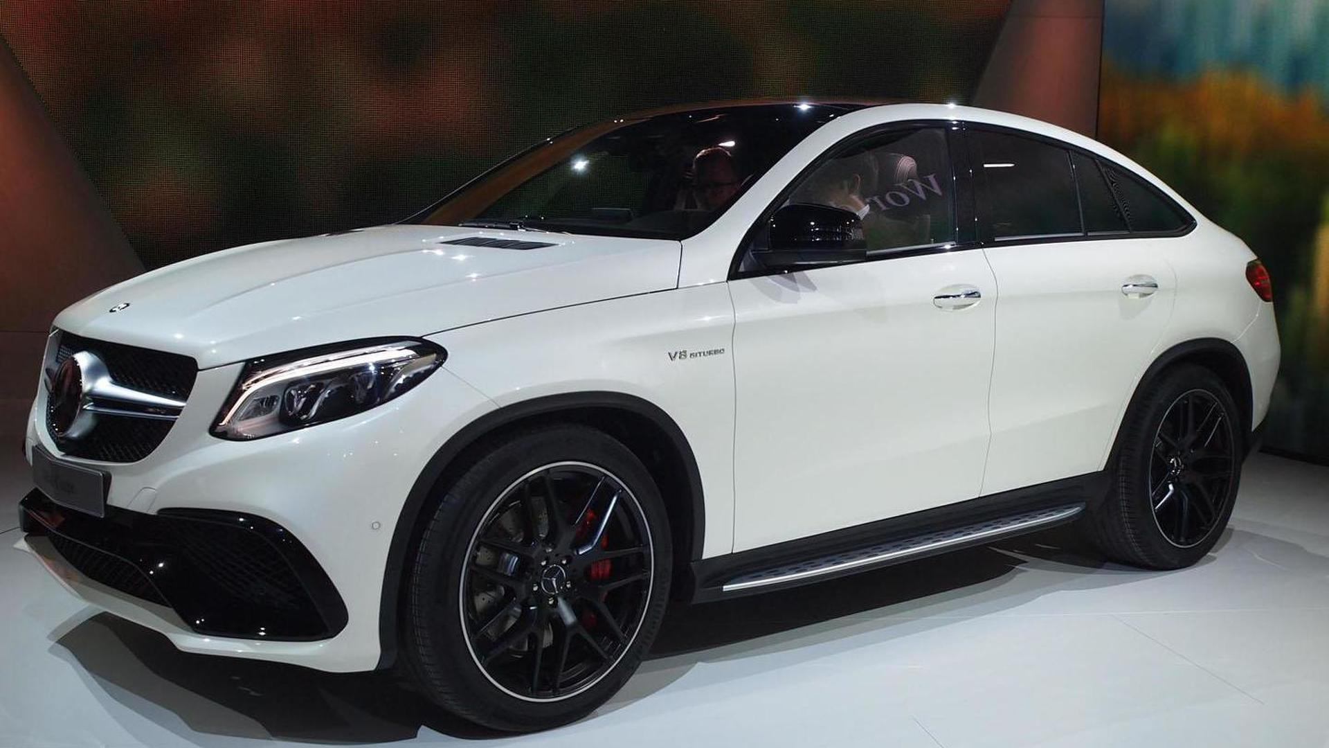 Mercedes Amg Gle 63 Coupe Arrives In Motown With 557 Ps