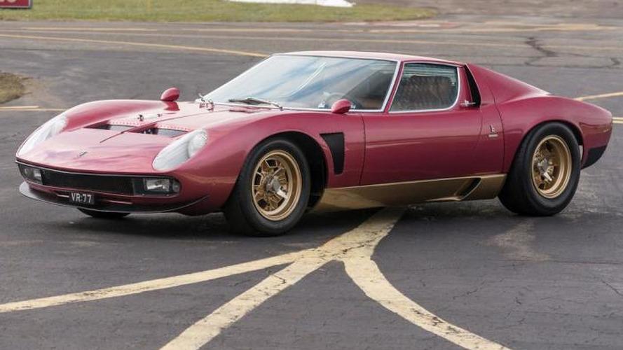 Ultra rare 1971 Lamborghini Miura SVJ to be auctioned this month