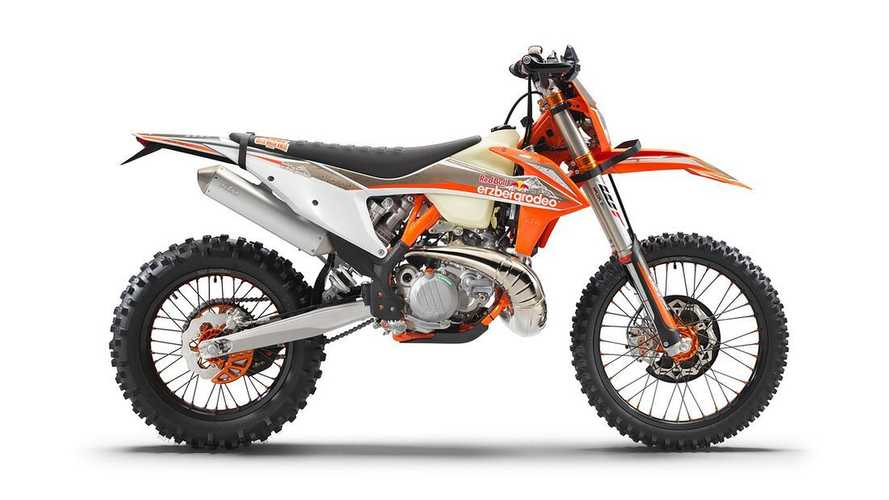 KTM Releases Special-Edition 2022 300 EXC TPI Erzbergrodeo