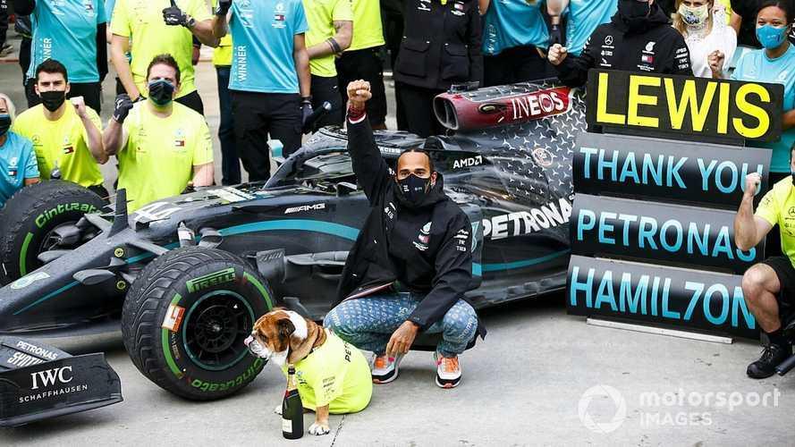 Hamilton, Mercedes F1 nominated for Laureus Awards
