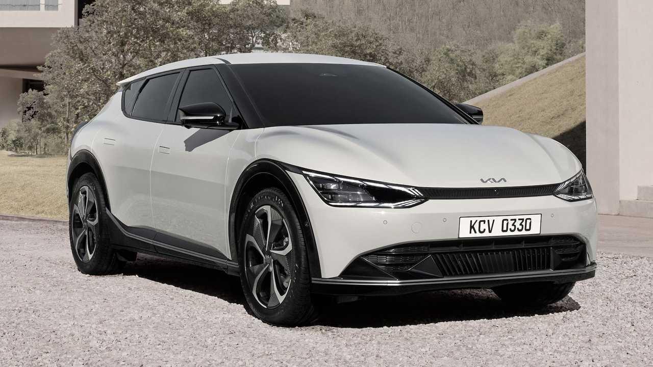 Kia EV6 2021, un crossover eléctrico original
