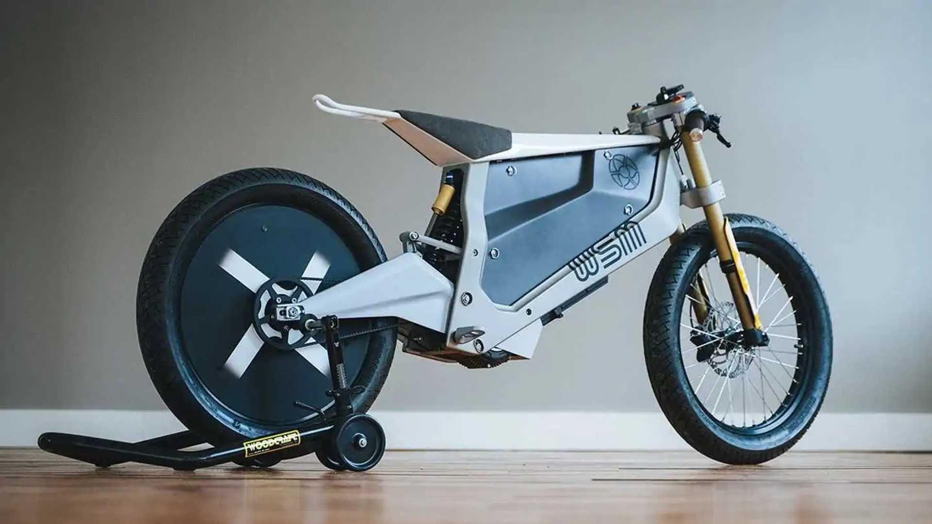 WSM Electric Bike Concept - Rear, Right