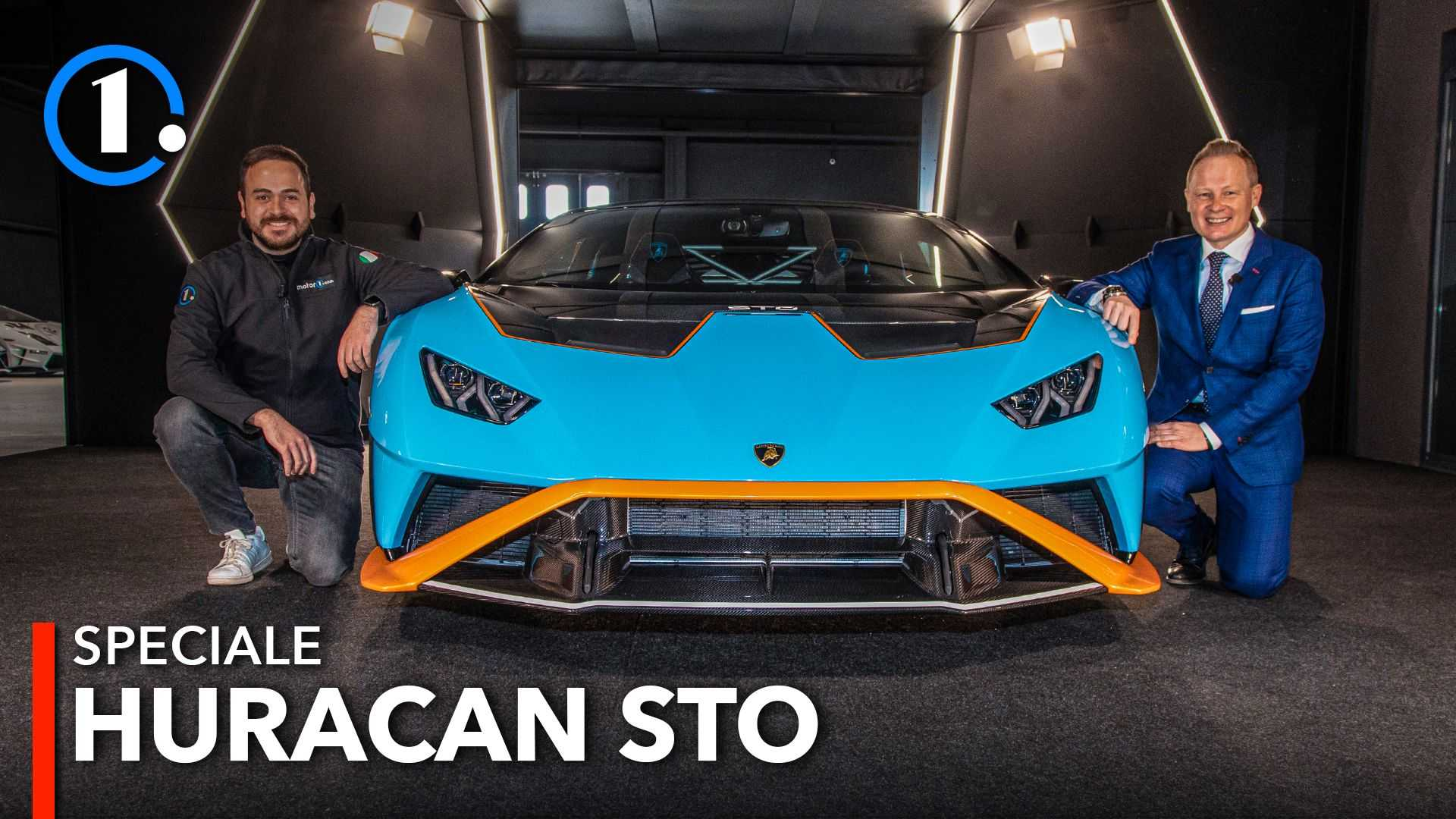 Lamborghini Huracán STO First Look: See And Hear The Insane Supercar