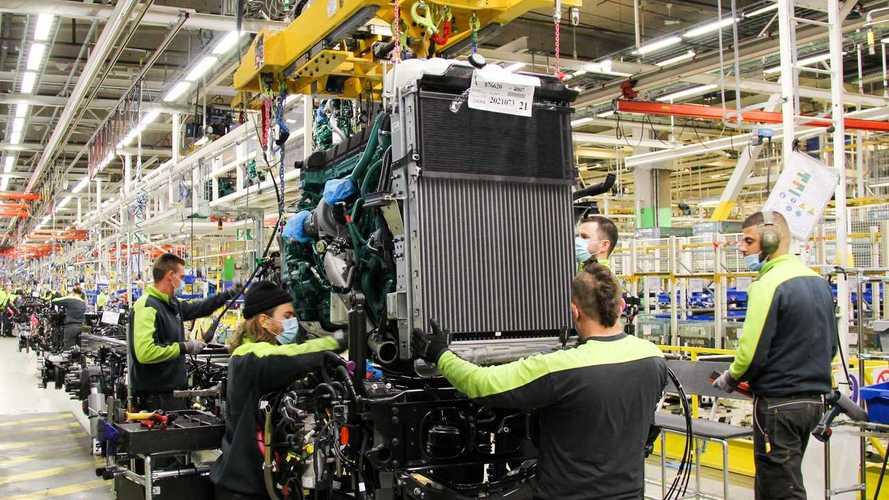 Volvo FH, FH16, FM ed FMX, al via la produzione