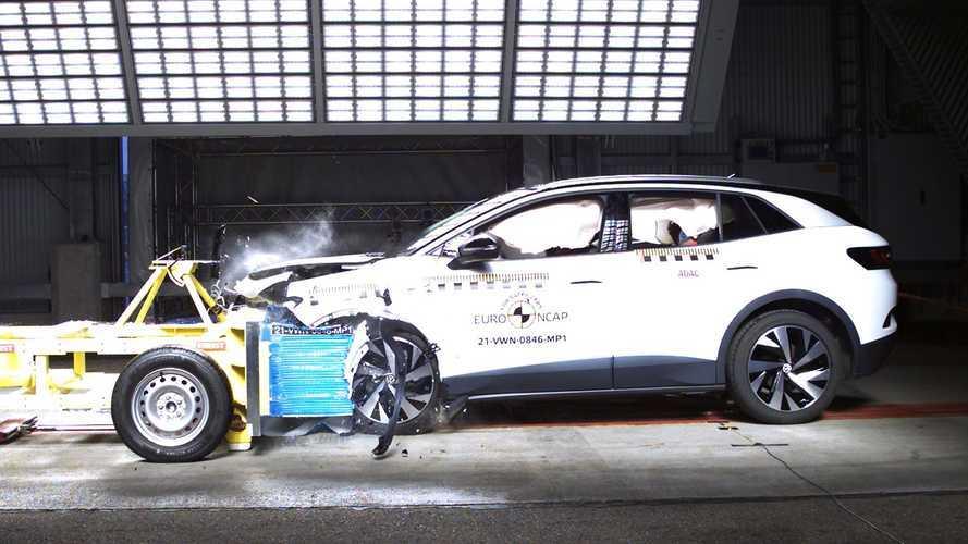Crash test Euro NCAP, 5 stelle per Enyaq e ID.4, 2 per Sandero