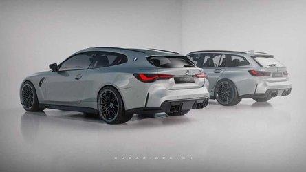 BMW M4 Shooting Brake und M3 Touring als Augenschmaus