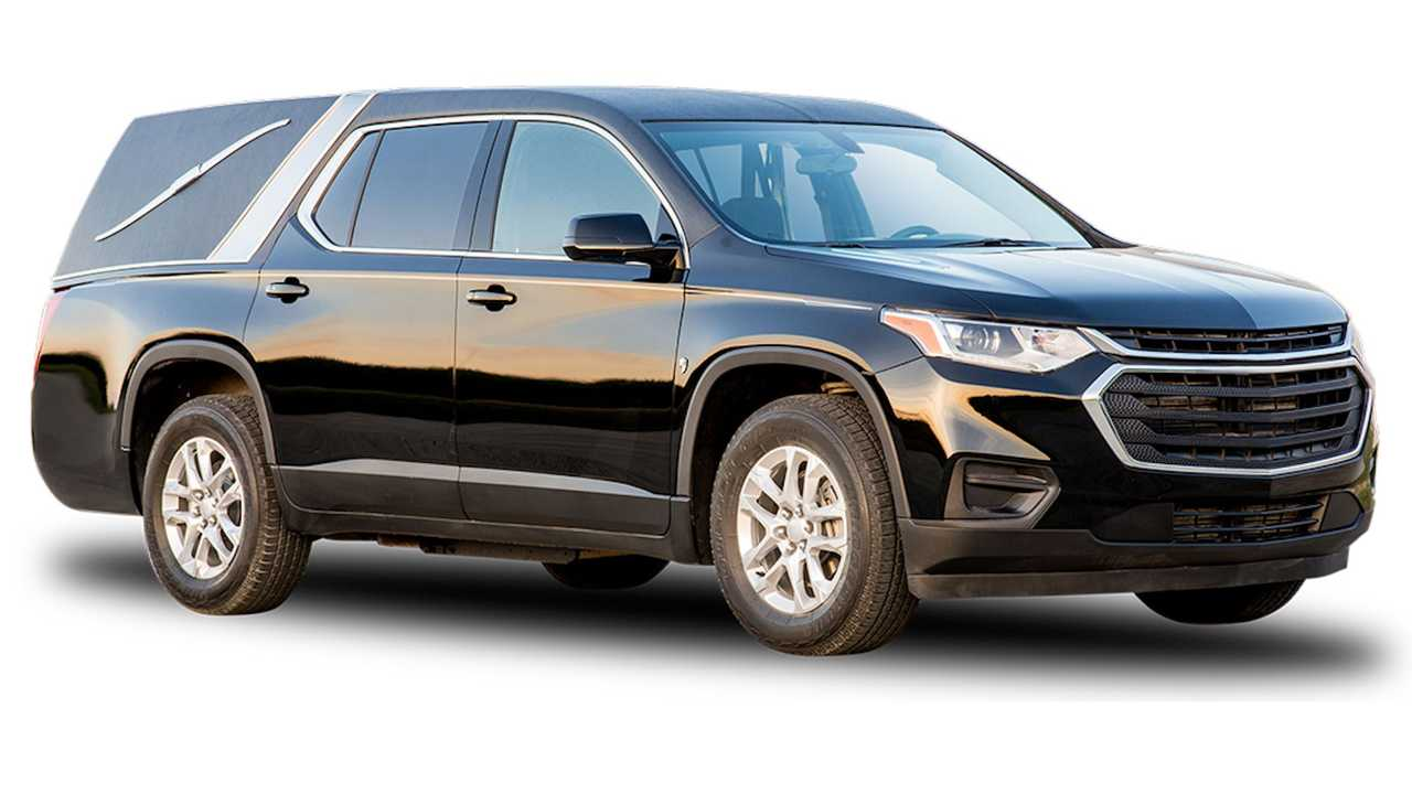 Chevrolet Traverse Hearse by K2 Vehicles.