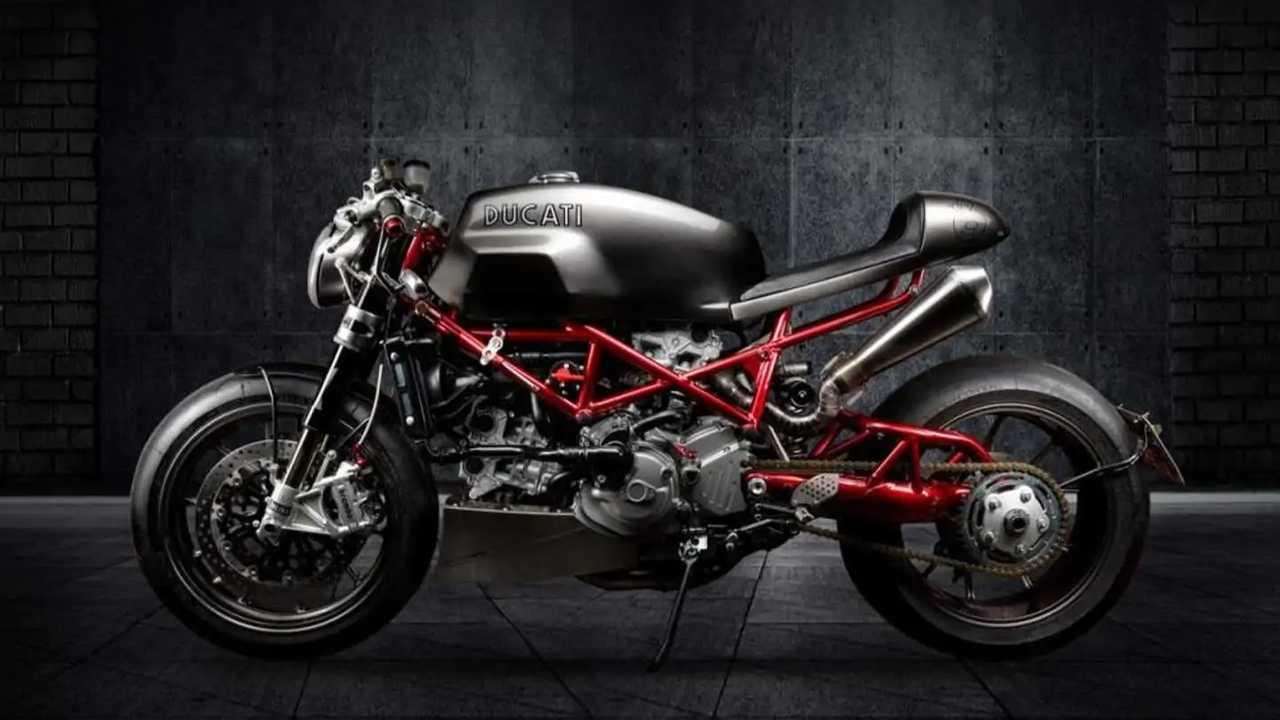 Ducati Monster S4RS kustom karya SR Corse asal Brasil.