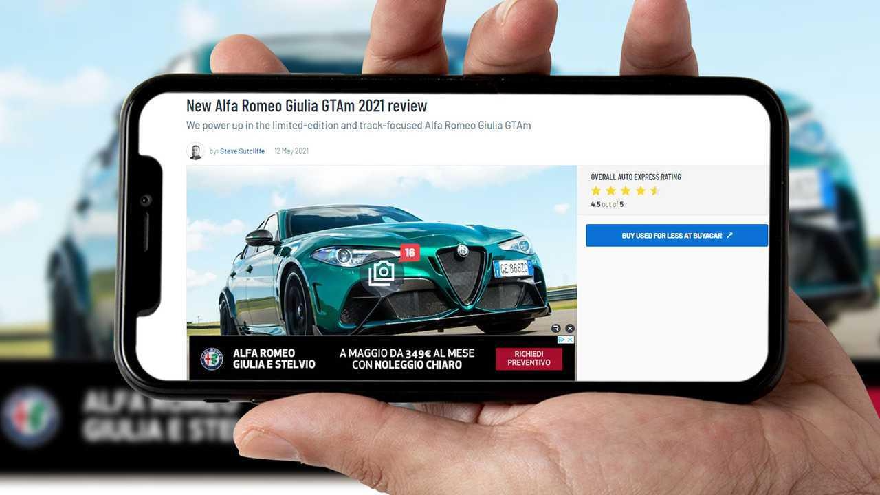 Alfa Romeo Giulia GTA provata dagli stranieri
