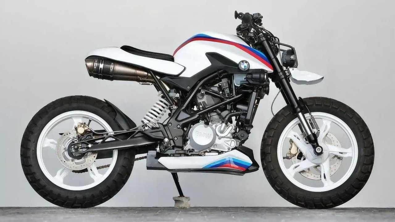 BMW G 310 R de K-Speed customización radical