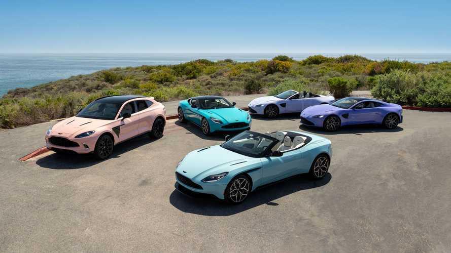 Sambut Musim Panas, Aston Martin Hadirkan Pastel Collection