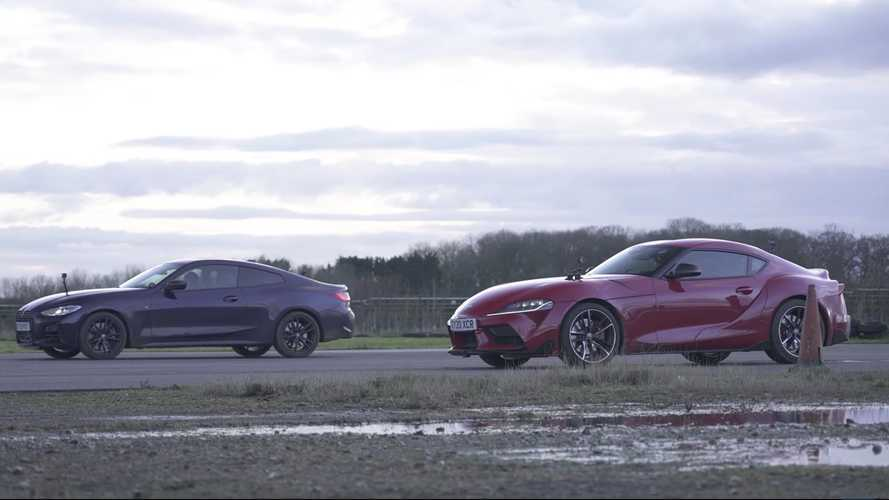 BMW M440i And Toyota Supra Hold Drag Race With Intriguing Results