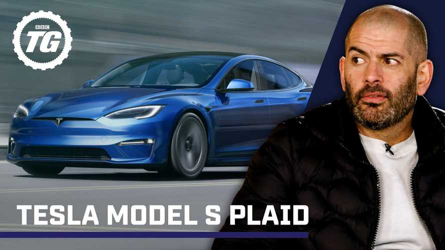 Chris Harris talks about Tesla Model S Plaid, its sprint time and the yoke