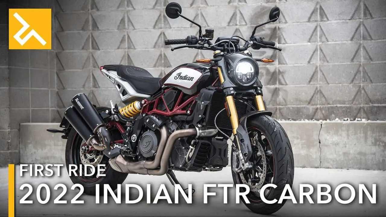 2022 Indian FTR Carbon Feature