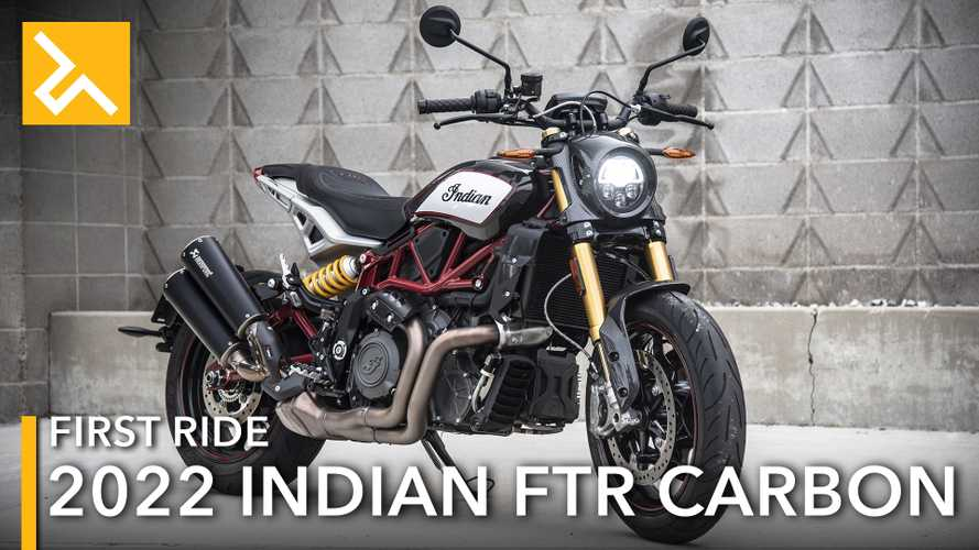 2022 Indian FTR Carbon First Ride Review