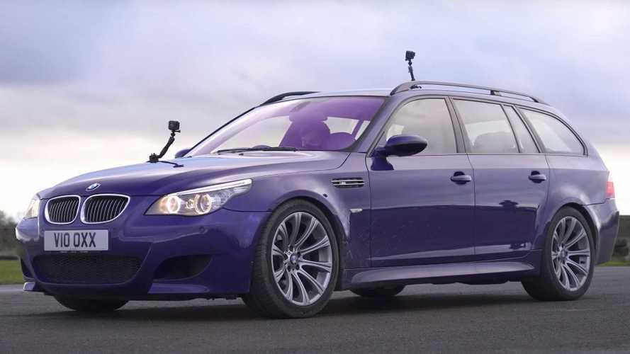 BMW M5 V10 Touring v BMW M440i Drag Race Showcases Progress of Performance