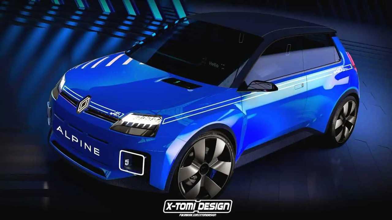 Alpine R5 voll 160-kW-Antrieb erhalten