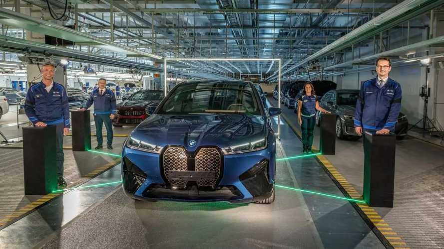 BMW iX Dingolfing Production Start