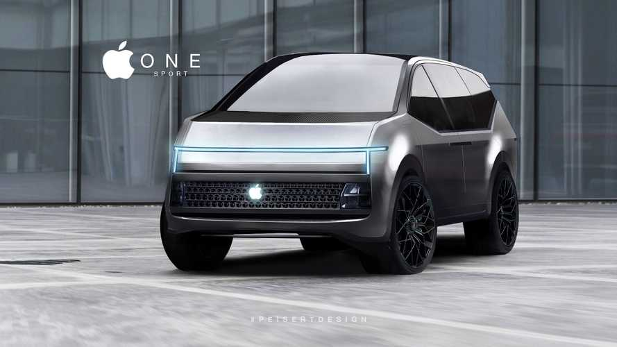 Imaginative Look At Potential Apple Electric Hyper SUV