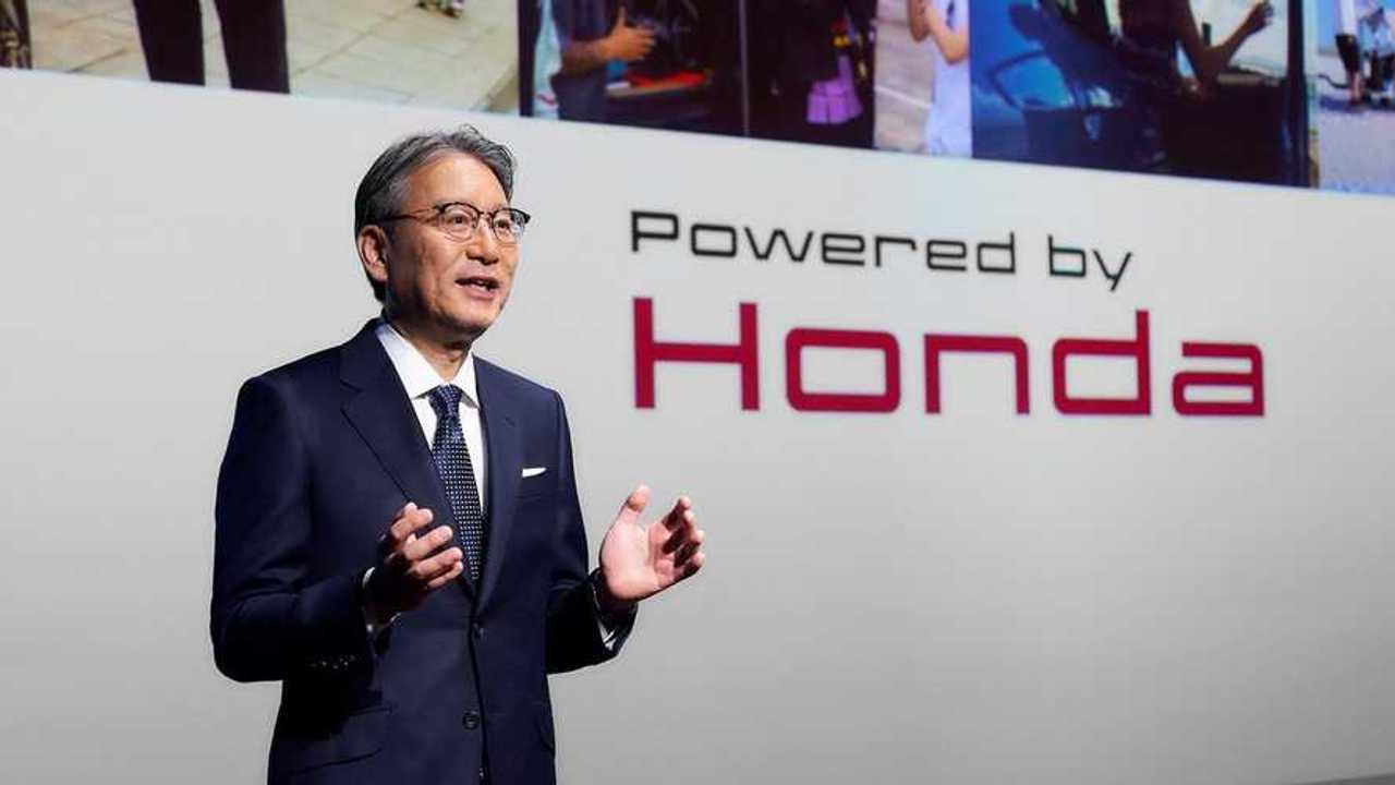 Honda CEO Toshihiro Mibe
