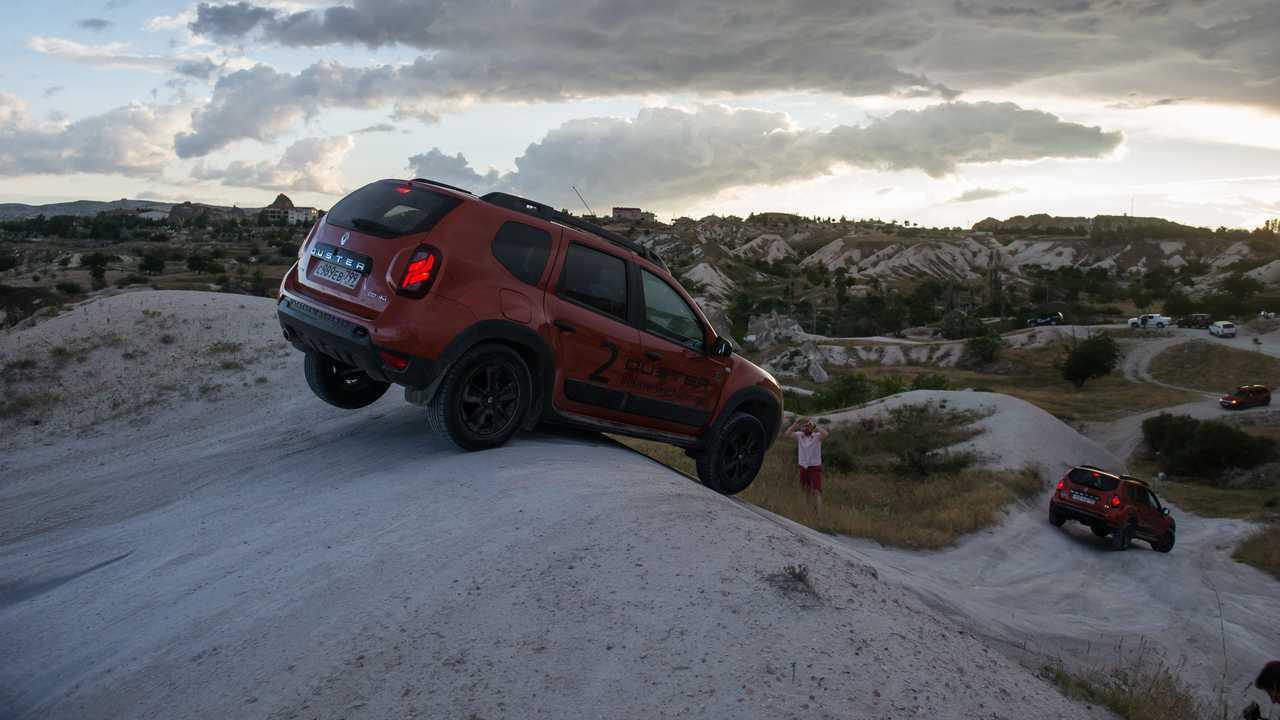 Renault Duster в Каппадокии