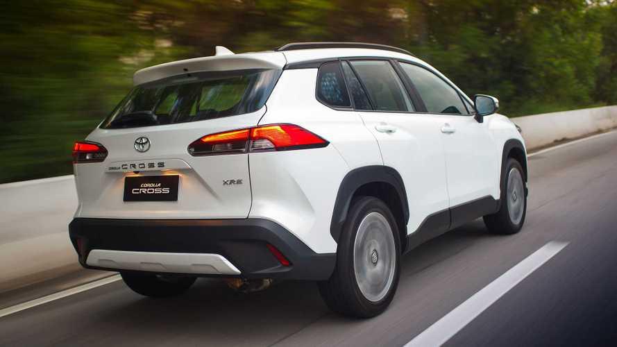Toyota: Corolla e Corolla Cross sofrem mais um reajuste de preços
