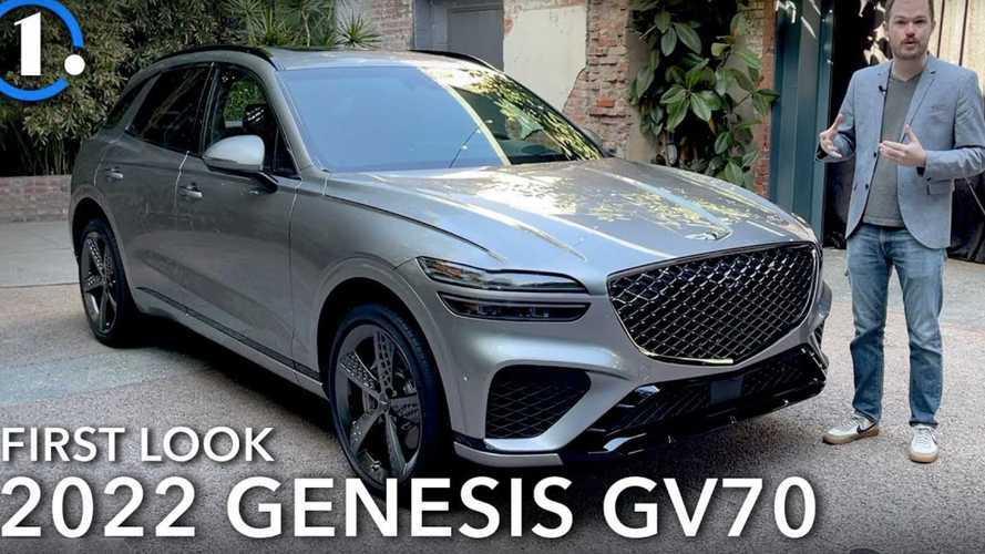 Genesis GV70 2022, Jauh Lebih Sporty Tanpa Kehilangan Kesan Mewah