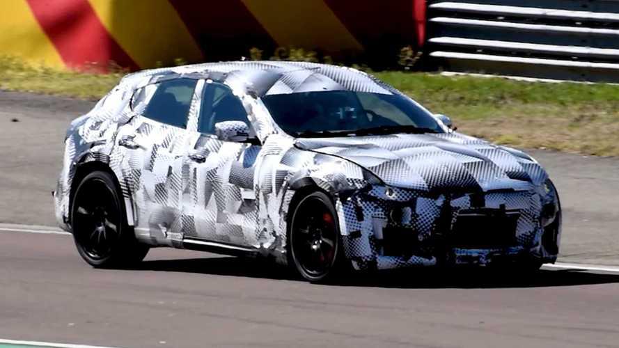 Ferrari Purosangue SUV Test Mule Spied Doing What Ferraris Do Best