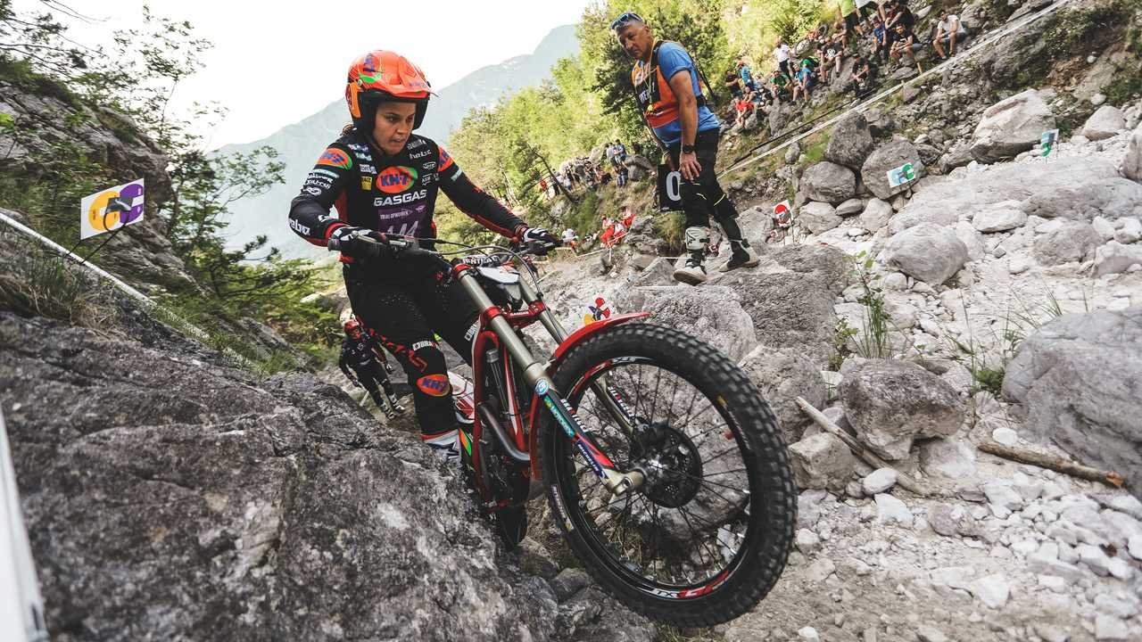 Laia Sanz 2021 Women's World Trials Victory - GP Of Italy